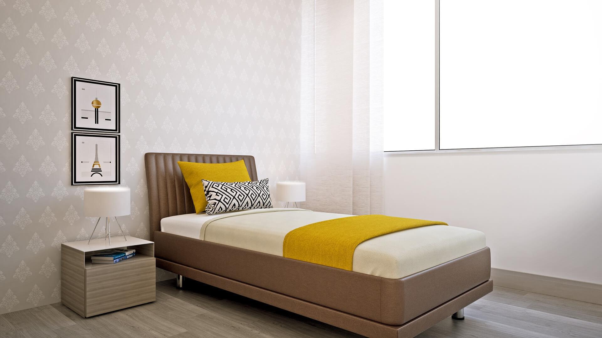 5 tips voor een kleine slaapkamer