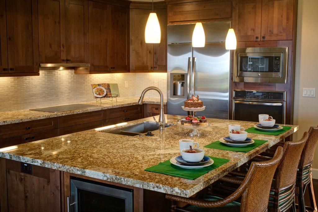 Hoe maakt u van een keuken een sfeervolle keuken