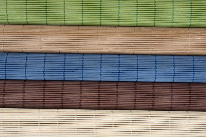 bamboe tapijt
