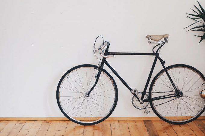 fiets ophangen