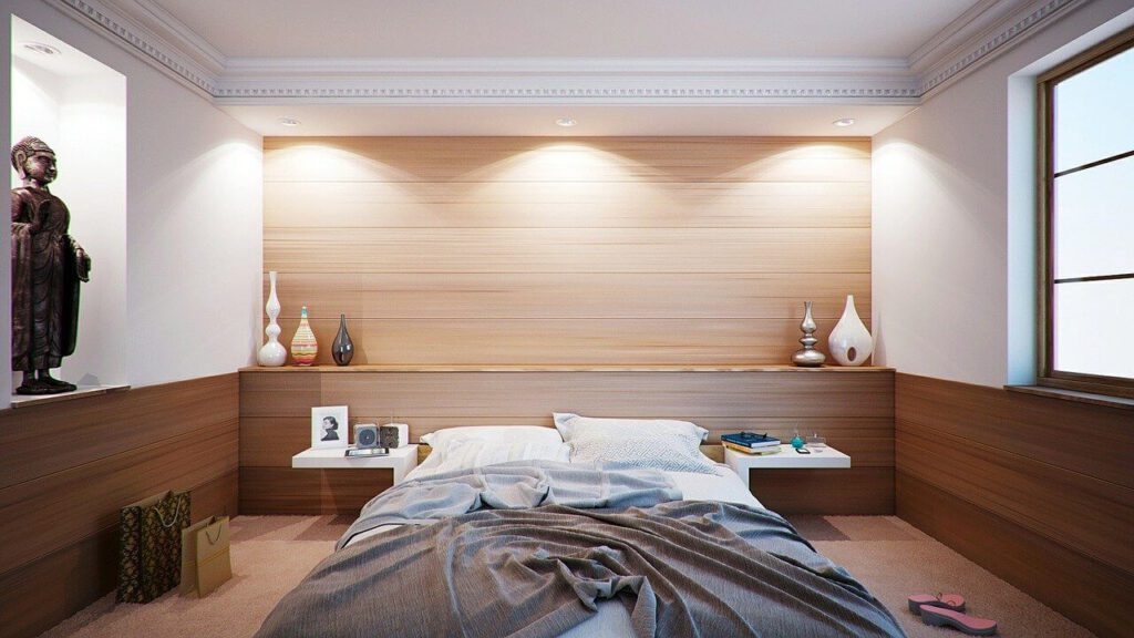 Slaapkamer vol romantiek