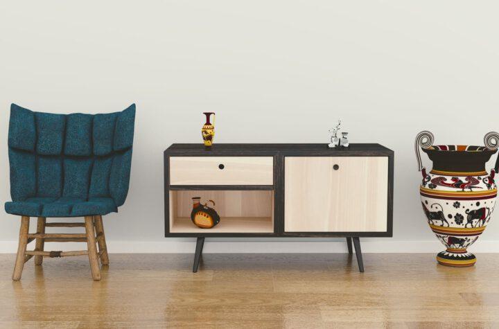 nieuwe meubels