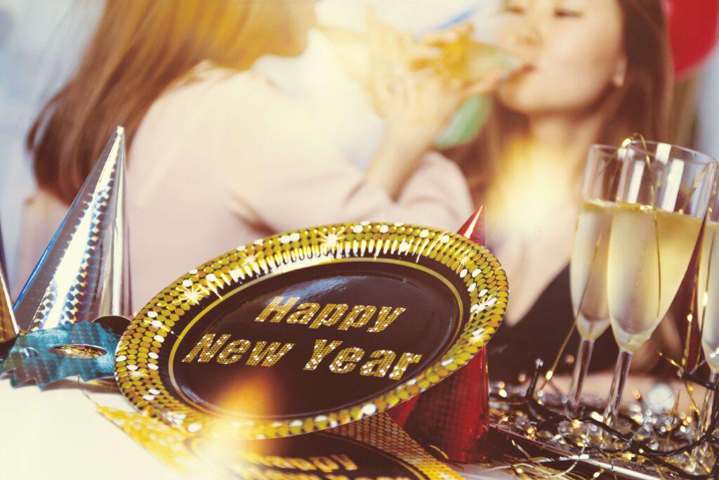 Oud en nieuw feest